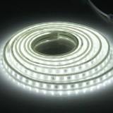 72W Casing Waterproof IP65 SMD 5730 LED Light Strip with Power Plug, 120 LED/m, 3m, AC 220V (White Light)