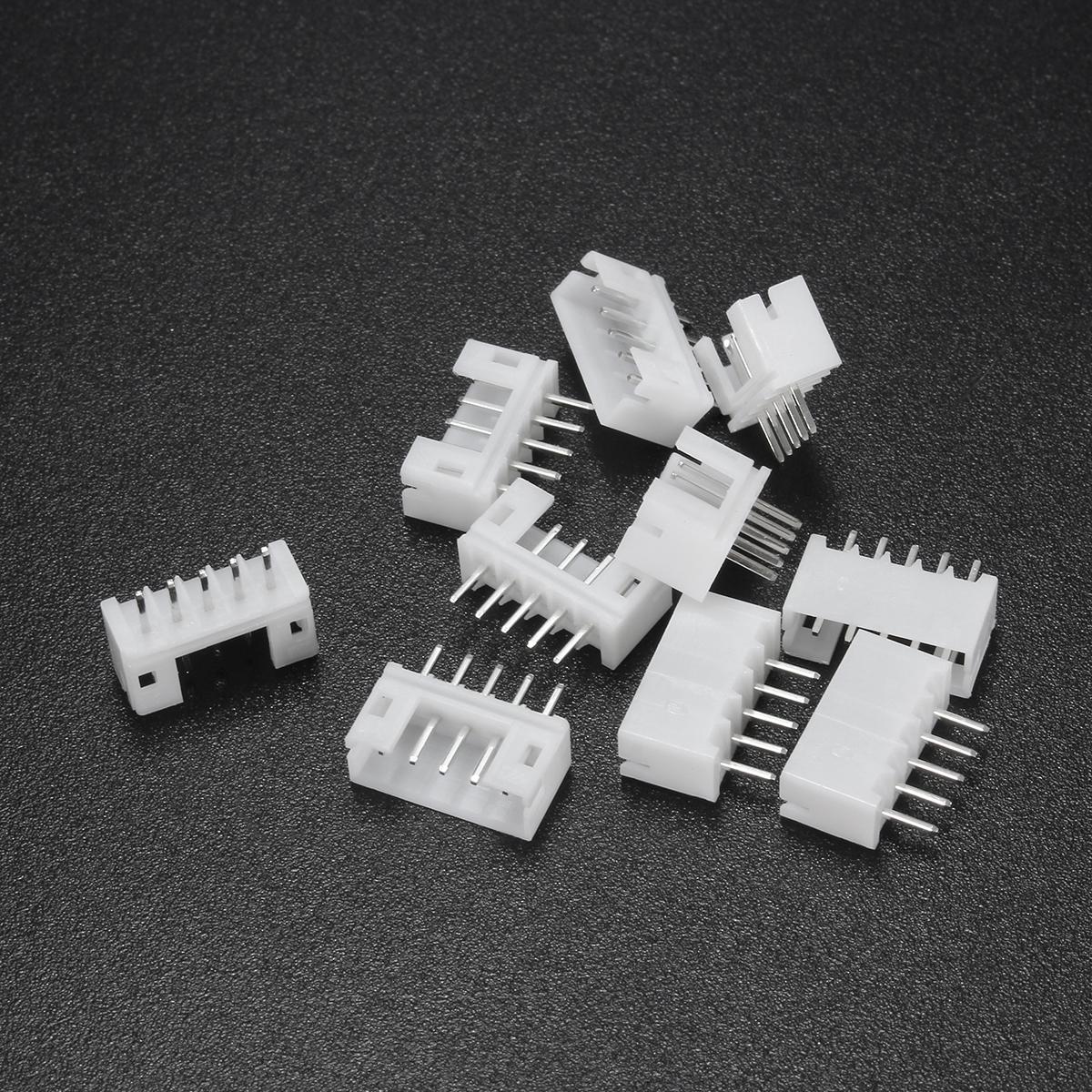 10pcs Mini Micro Jst 2 0 Ph 5pin Connector Plug With 30cm