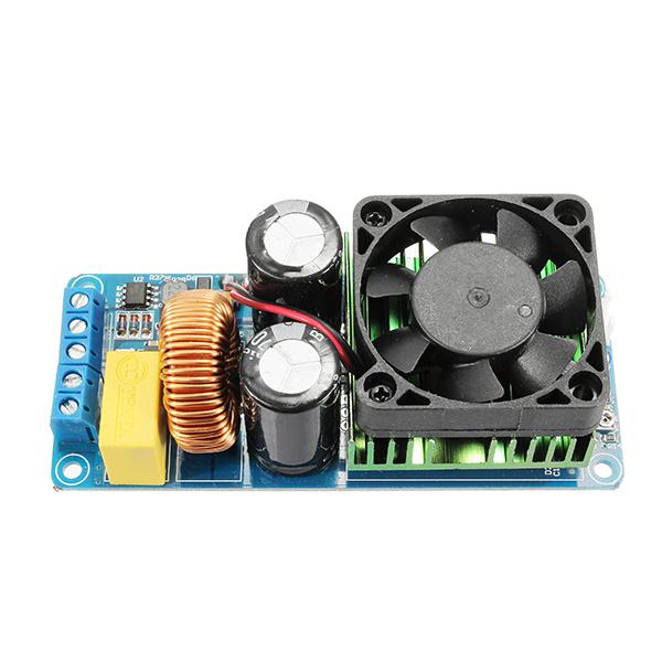 IRS2092S 500W Mono Channel Digital Amplifier Class D HIFI Power Amp Board With FAN