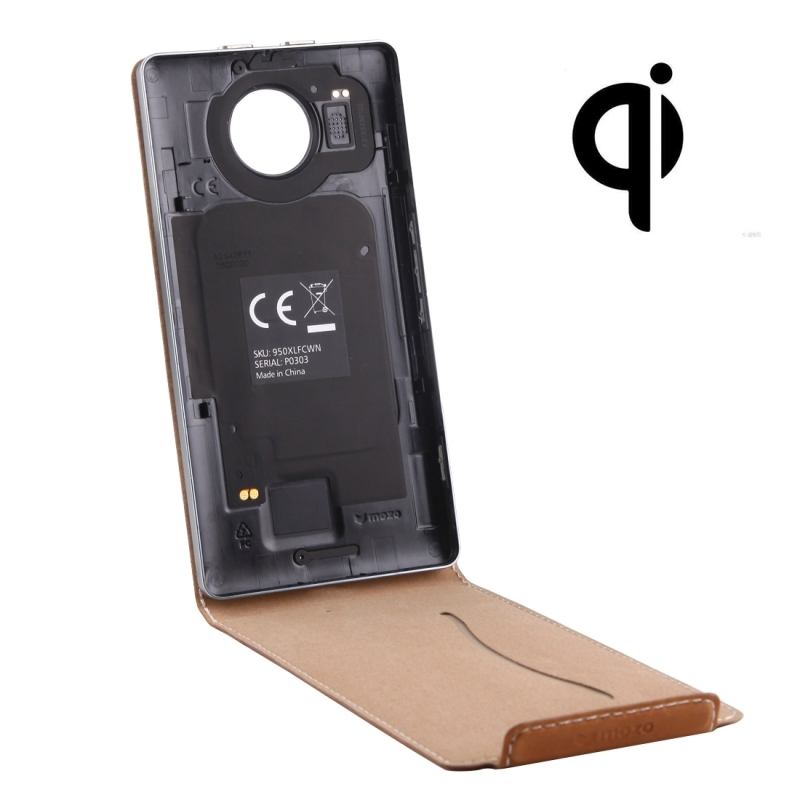 The mozo microsoft lumia 950 qi wireless charging back cover temelj