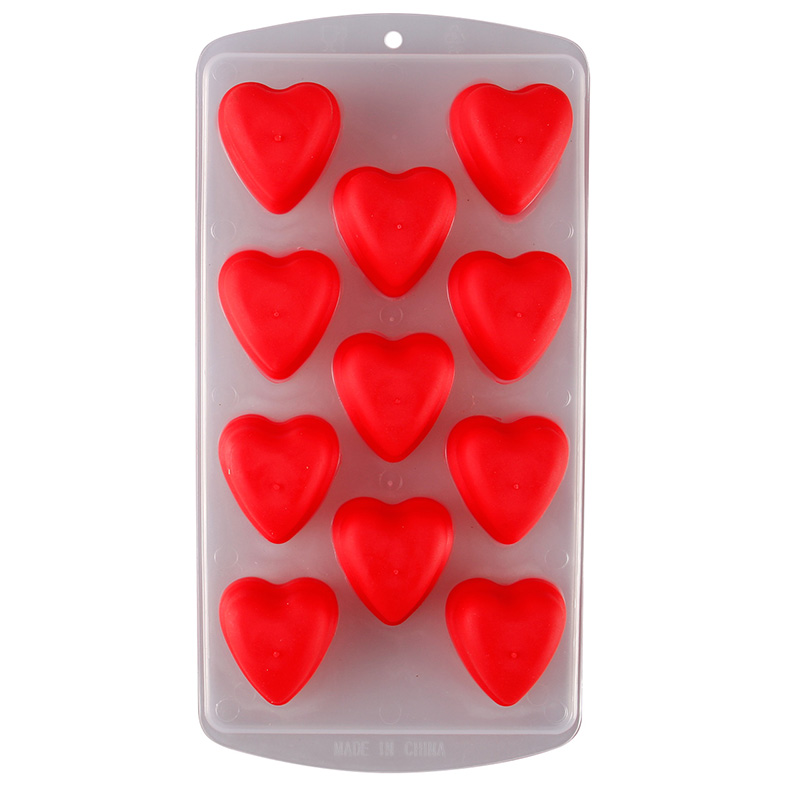 Food Grade Cake Pudding Jelly Ice Cube Maker Silicone Mold Mould Chocolate