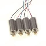 4pcs Copper Gear Electric Clockwise Anticlockwise Motor Rotor for UDI U817 U818A Quadcopter