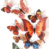 3D Colorful Butterfly Sticker Art Decal Wall Stickers Home Decor Room Decor