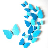 3D Pretty Butterfly Sticker Art Design Decal Wall Stickers Home Decor Room Decor