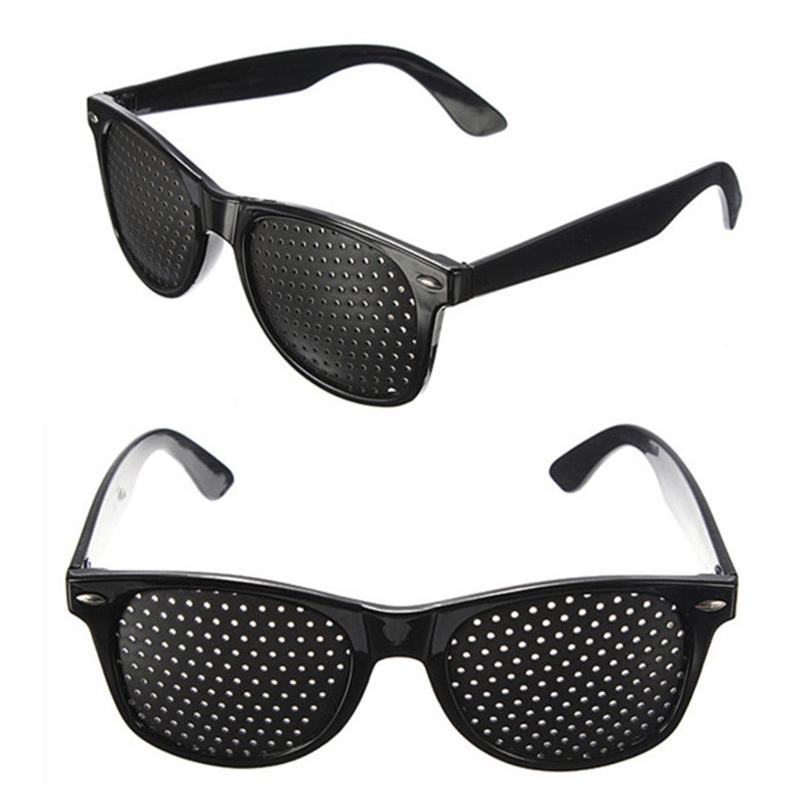 Anti-fatigue Vision Care Stenopeic Pinhole Glasses