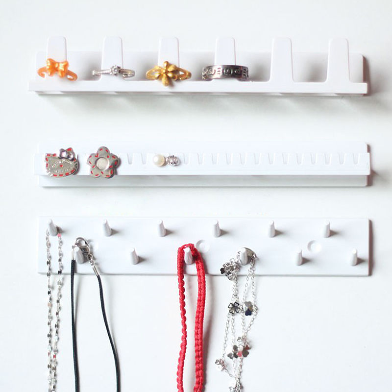 Wall-mounted Classic Holder Rack Stand Earring Necklace Bracelet Jewelry Display