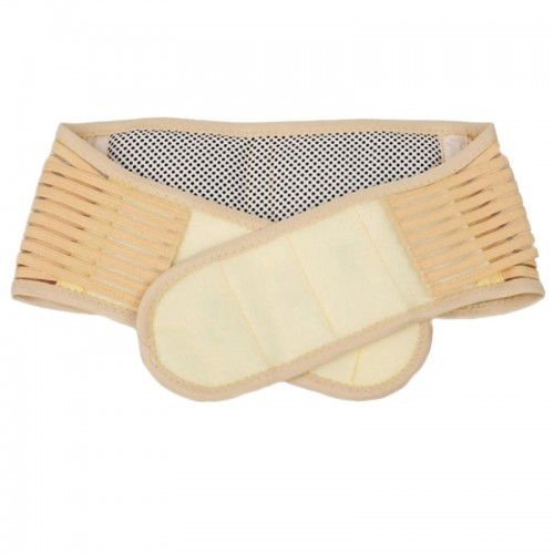Tourmaline Magnetic Therapy Lower Waist Support Belt Self Heating Pain Relief