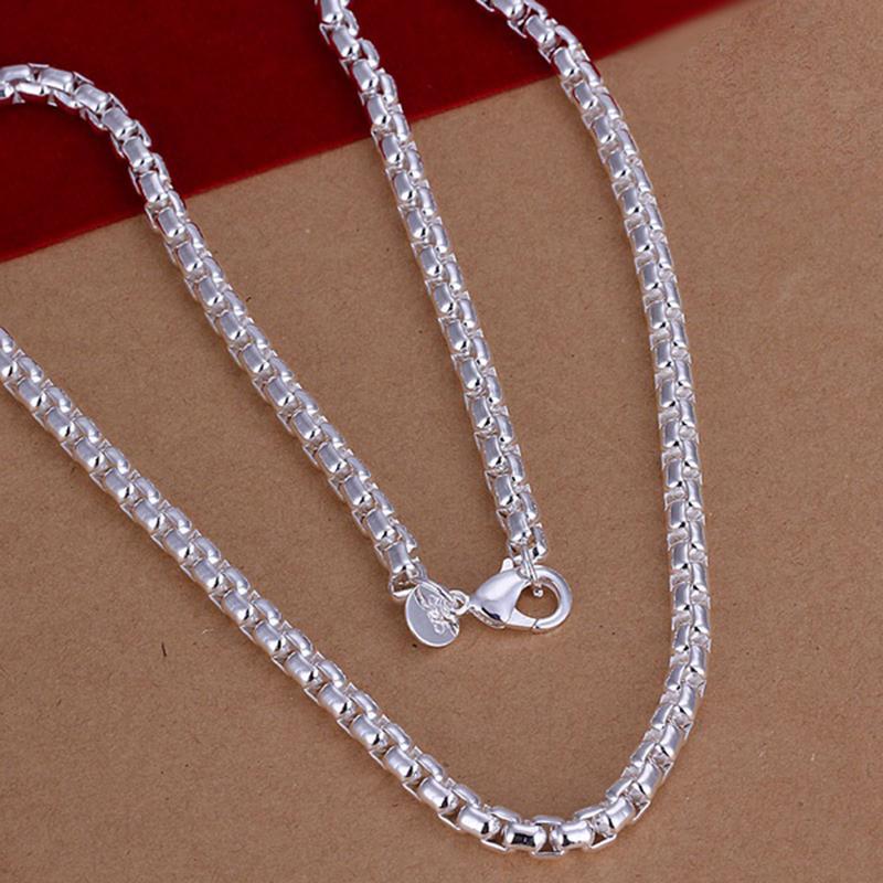 Silver Rope Bracelet: Unisex Sterling Silver Plated Twist Rope Chain Bracelet