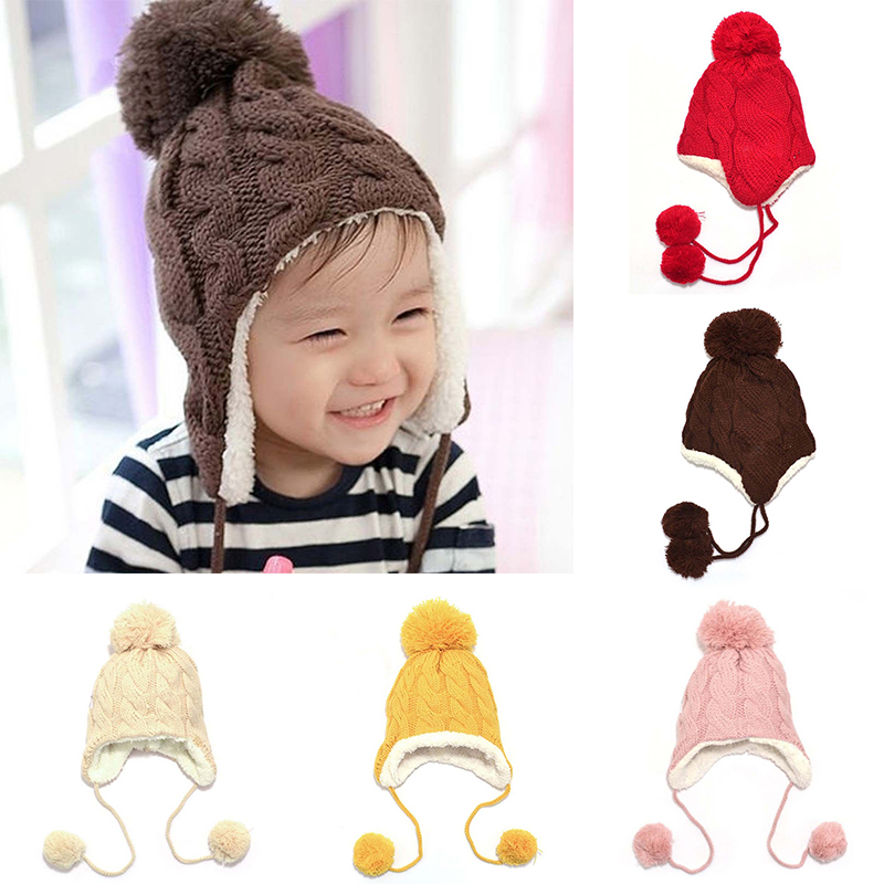 ee9d90c03fa Trendy Winter Baby Beanie Warm Fur Twisted Cute Kids Boys Girls Toddler  Knitted Hat Cap. 1477301241 4281.jpg  1477301229 8828.jpg ...