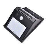 20 LED Waterproof Motion Sensor Solar Power Wall Light Outdoor Security Lamp Security