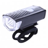 300LM Cycling Bicycle LED Lamp USB Rechargeable Bike Head Front Light Torch New
