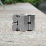 Aluminium Alloy Infinity Cube EDC Hand Toys Stress Relief Fidget Anti Anxiety Stress Toy