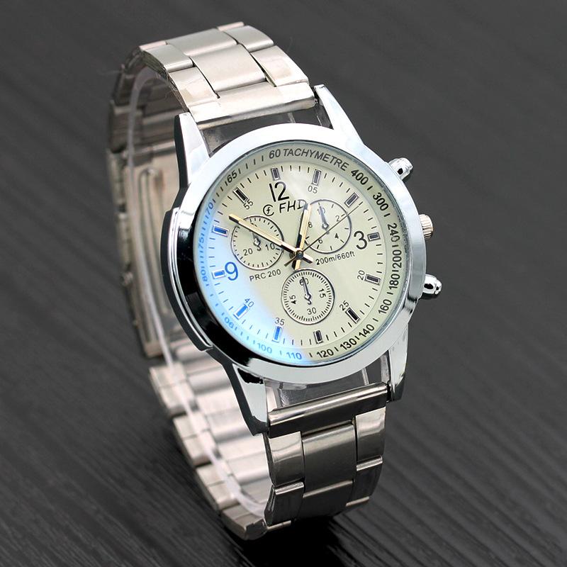 Men Fashion Casual Quartz Steel Strip Watch Automatic ...