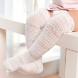 Lovely Princess Baby Girl Knee Socks Cotton Breathable Baby Socks