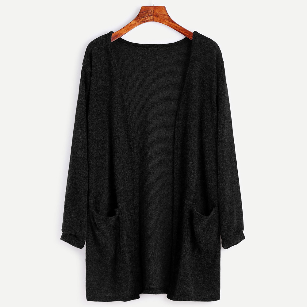 a0444a15ba Women Long Sleeve Oversized Loose Knitted Sweater Jumper Cardigan Outwear  Coat · 1501055063 2201. ...