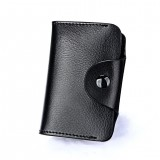 Leather Men's Card Holder Purses High Quality Women's Credit Card Holders Women Pillow Holder Wallet