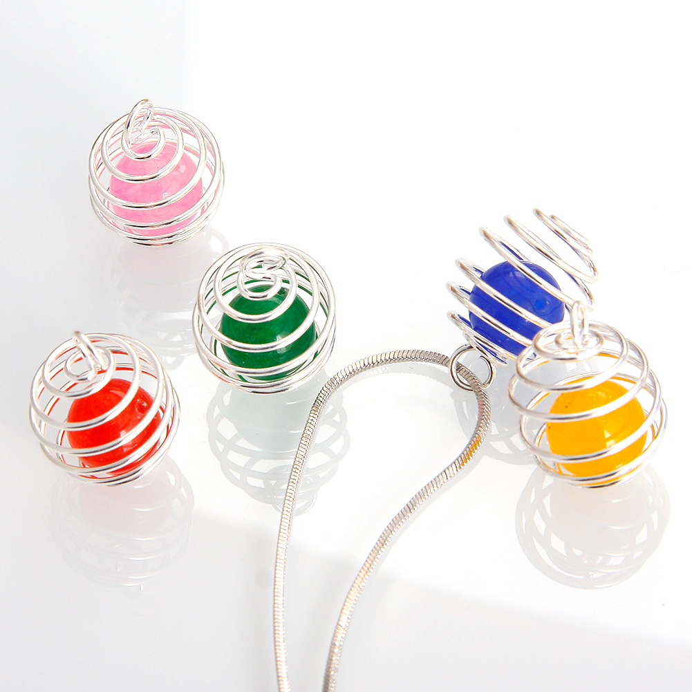 how to make bead cages