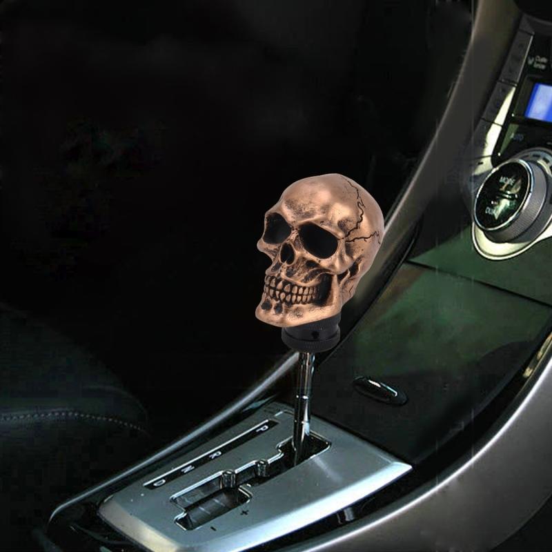 Universal Skull Head Shape Manual Or Automatic Gear Shift