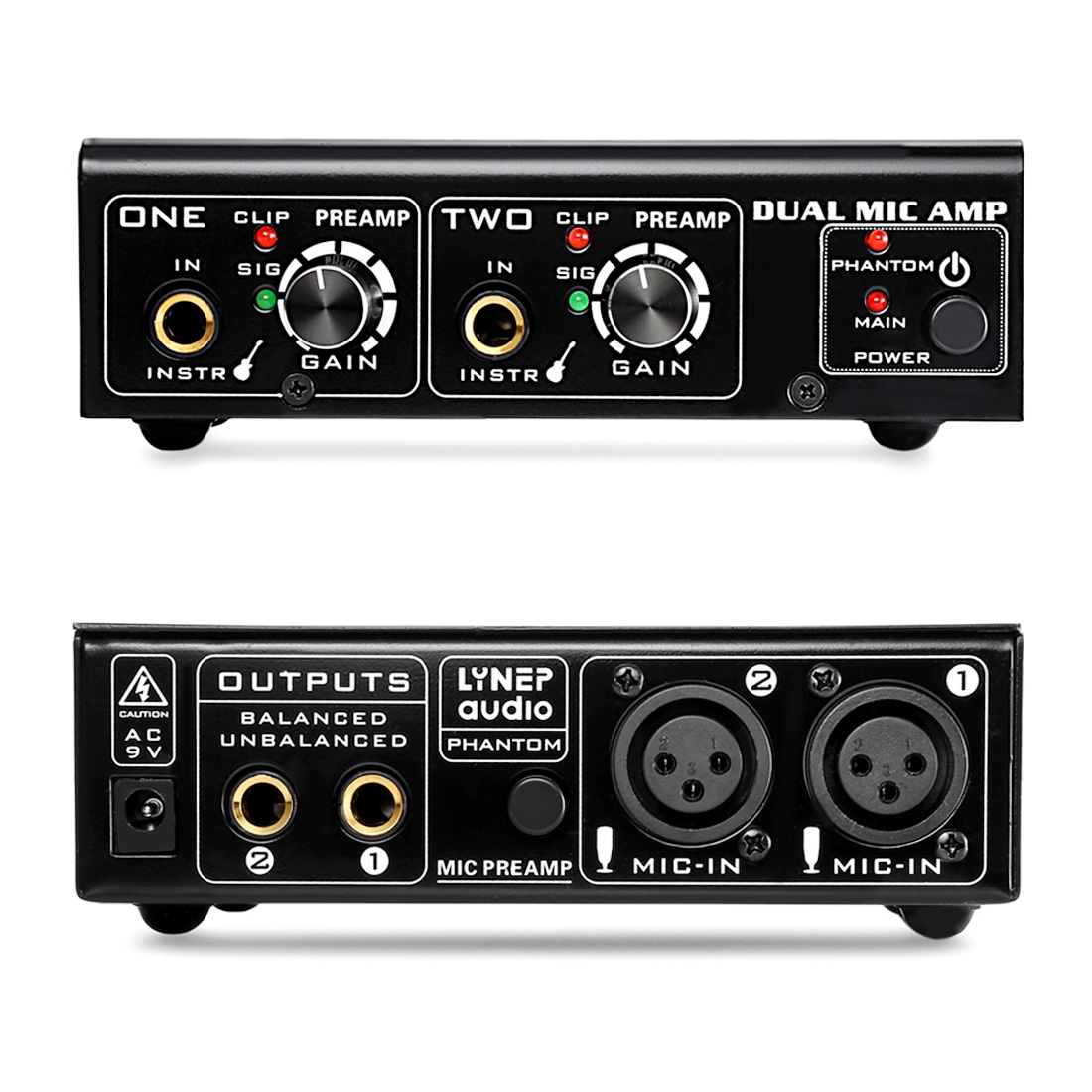 linepaudio a961 2 channel microphone amplifier electric guitar electric bass amplifier black. Black Bedroom Furniture Sets. Home Design Ideas