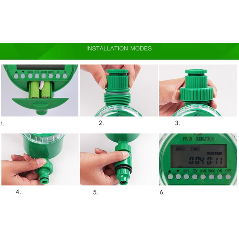 Automatic Watering Controller Timer Garden Water Timer Sprinkler Irrigation Controller Irrigation Timer Controller Watering Kits
