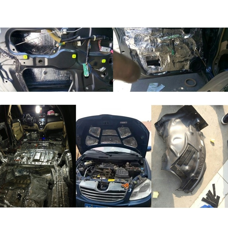 Car Sound Insulation Rubber Sealing Strip Noise Windproof Door Rubber Seal Strip Sound Insulation Glue Sound Insulation Pad