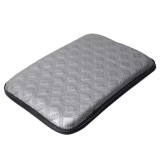 Universal Comfortable Automotive Armrest Mats Car Armrests Cover Vehicle Center Console Arm Rest Seat Box Soft Mats Cushion (Grey)