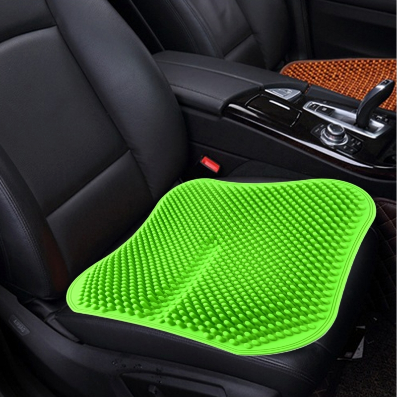 Car Seat Cushion Backless Massage High Memory Silicone Breathable ...