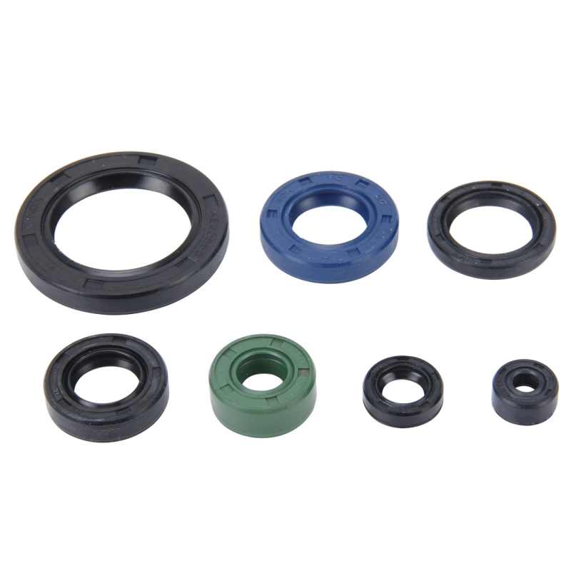 Pcs motorcycle rubber engine oil seal kit for cbt