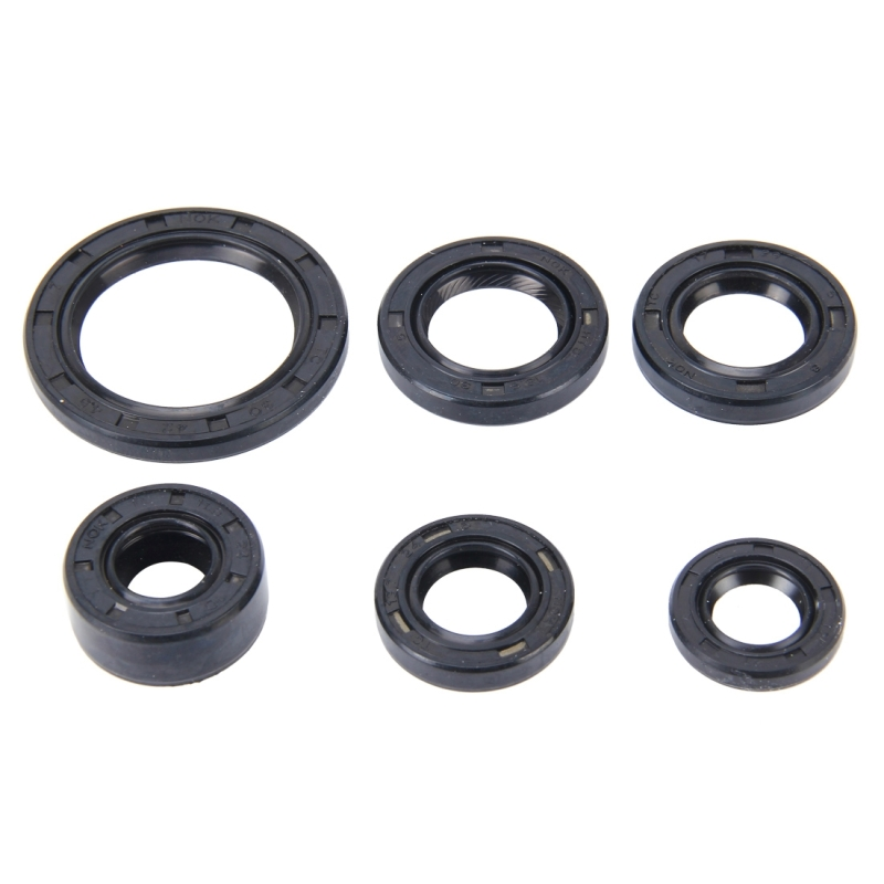 Pcs motorcycle rubber engine oil seal kit for cd