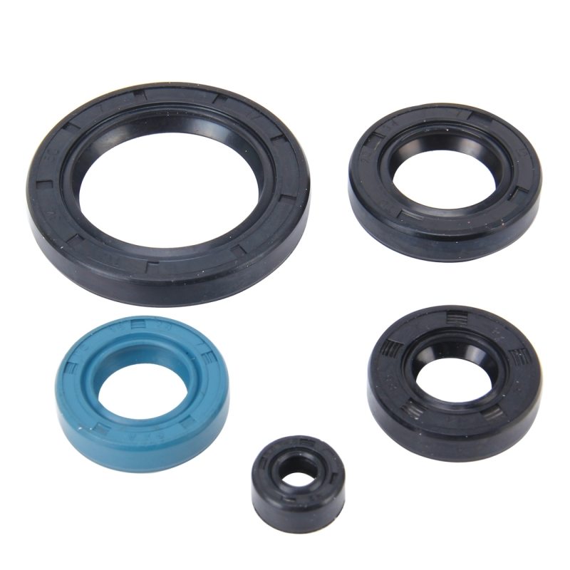 Pcs motorcycle rubber engine oil seal kit for zj