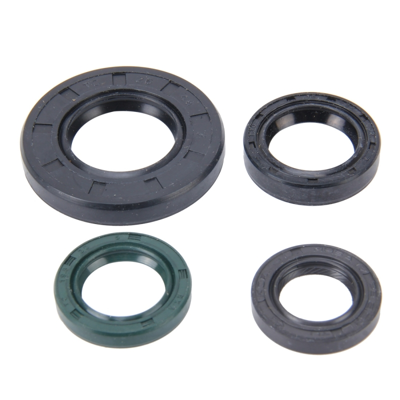 Pcs motorcycle rubber engine oil seal kit for jog