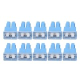 10 PCS 100A 32V Car Add-a-circuit Fuse Tap Adapter Blade Fuse Holder