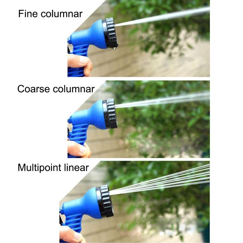 8 Function Garden Water Gun Multi-functional Spray Gun Gardening Spray Gun Watering Guns Ajustable Hose Nozzles 8 Pattern Garden Water Gun