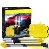 One Set 9005 HB3 AC 12V 55W 5500LM IP65 Waterproof Xenon Lamp 6000k Car Light Headlight HID Xenon Bulb Kit