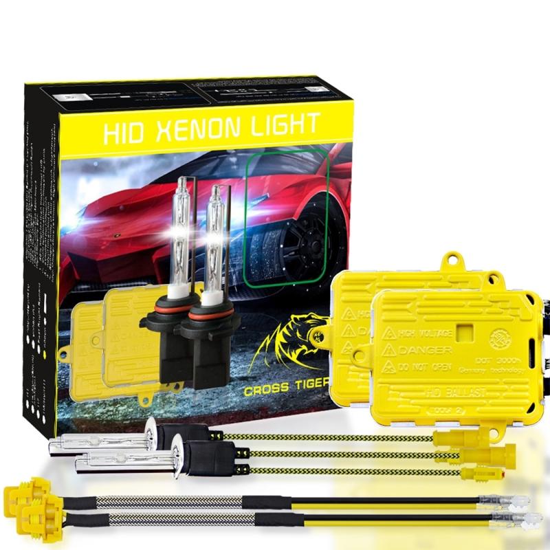 H1 HID Xenon Conversion Kit Foglight Replacement Head Light Lamp Bulb One Pair