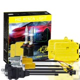 One Set 9003 H4 HB2 AC 12V 55W 5500LM IP65 Waterproof Xenon Lamps 6000K Car Light Headlight HID Xenon Bulb Kit