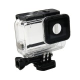 For GoPro HERO5 Waterproof Housing Protective Case + Hollow Back Cover with Buckle Basic Mount & Screw