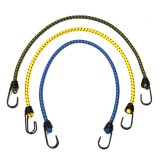 2 PCS Outdoor Tent Crude Elastic Rope Tied High Luggage Rope Clothesline Camping, 8mm (Random Color)