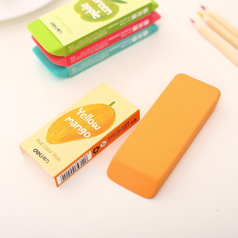 3 Pcs Cute Fruit Shape Pencil Sharpener Stationery Students School Supplies Random Color