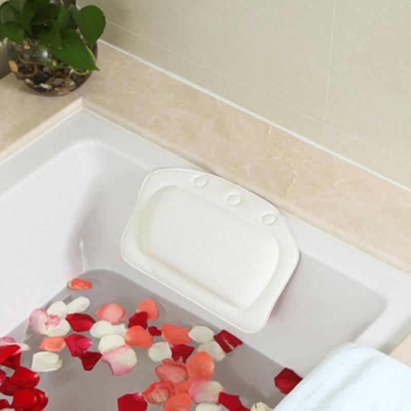 2 PCS Bathroom Supplies Bathtub Pillow Bath Bathtub