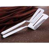 Stainless Steel Barbecue Steak Clip Tongs BBQ Roasting Shovels Leak Steak Shovel Spatula Food Clamp Bread Clips