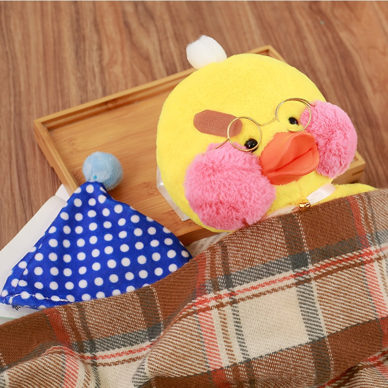 Hyaluronic Acid Duck Cartoon Small Yellow Duck Plush Duck Toy Kids Toy