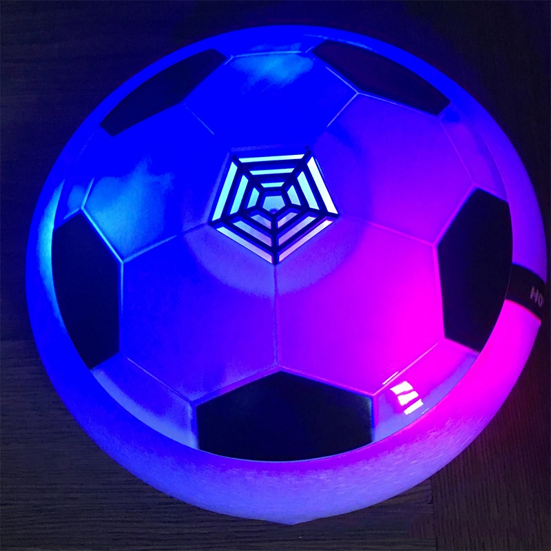 Fashion Children Toys Football Toys Electric Suspension Football Universal with Colorful Indoor Air Cushion Football Play Toys