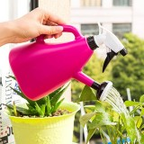 Dual-use Gardening Large Watering Can Hand Pressure Sprinkler Watering Pot Spray Bottle, 0.6L (Random Color)