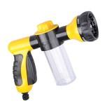 Multifunctional Car Foam Water Gun Garden Watering Tools Pet shower sprinkler (Random Color), Without Water Pipe
