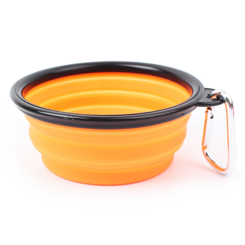 Portable Dog Water Bowls Bowl By Rover Cat Bottle: Portable Pet Folding Feeding Bowl Silicone Water Dish