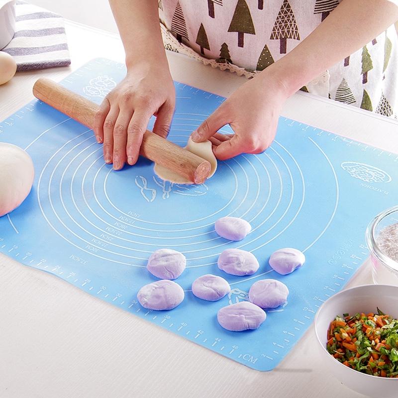 Multi-purpose Baking Necessary Silicone Kneading Dough Pad / Flour Pad / Heat Insulation Meal Pad