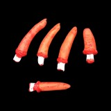 Halloween Horror Props April Fool Day Party Prop Body Parts Decoration 5 Bloody Fingers