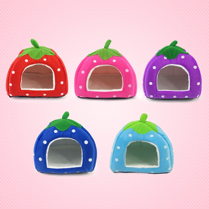 Strawberry Shaped Dog House