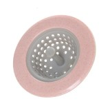 4 PCS Kitchen Drain Floor Drain Garbage Filtering Anti Blocking Flip Grade Drain Cleaning Basket, Random Color Delivery